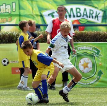 Turniej piłkarski w Lewinei Brzeskim