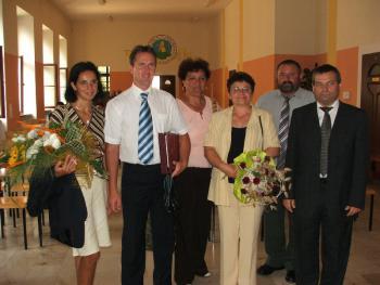 Uroczystość_X_rocznicy_współpracy_Lewin_Brzeski_-_Szegvar_1