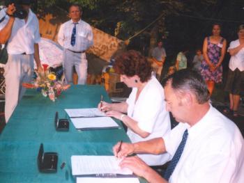 Podpisanie umowy o współpracy