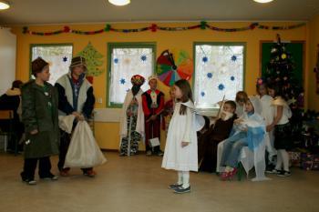 Dzień otwarty występ dzieci