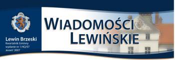 Wiadomosci Lewińskie