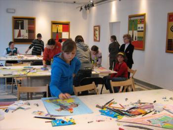 Konkurs plastyczny w PSP w Lewinie Brzeskim