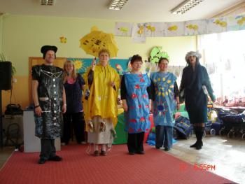 Uczestnicy warsztatów dla nauczycieli