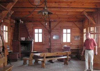 domek noclegowy - wnętrze
