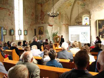 Europejskie Dni Dziedzictwa 2008 Strzelniki - kościół na szlaku średniwiecznych polichromii brzeskich
