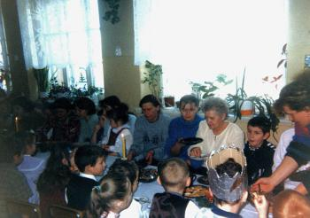 Spotkanie opłatkowe w przedszkolu