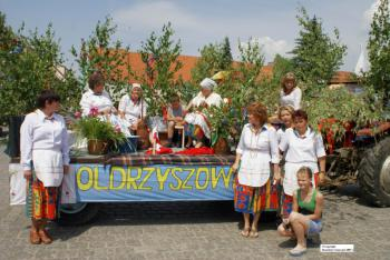 Sołectwo Oldrzyszowice - uczestnicy Turnieju sołectw 2007 - autor S.Usiarczyk Kuriel Brzeski