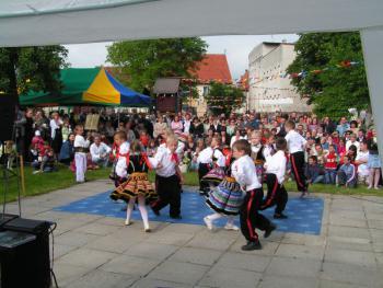 majówka w przedszkolu Nr 1 w Lewinie Brzeskim 2008