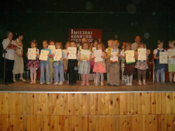 Laureaci - I kategoria wiekowa - przedszkolaki