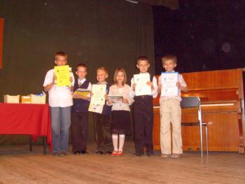 Laureaci - II kategoria wiekowa - uczniowie I-III klas