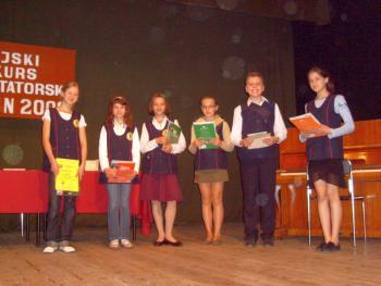 Laureaci - III kategoria wiekowa - uczniowie IV-VI klas