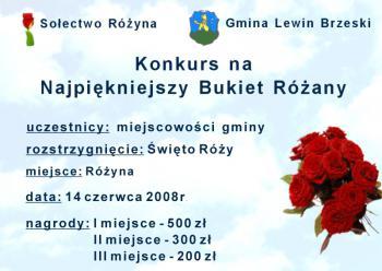 plakat Święto Róży