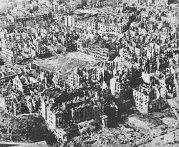 Warszawa po Powstaniu Warszawskim, S.Jankowski, A.Ciborowski Warszawa 1945 i dziś Wydawnictwo Interpress, Warszawa, 1971