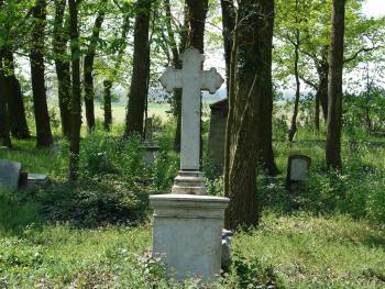 Wronów - stary cmentarz
