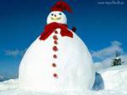 bałwan śnieżny