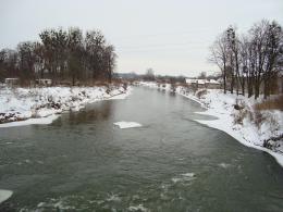 Nysa Kłodzka zimą