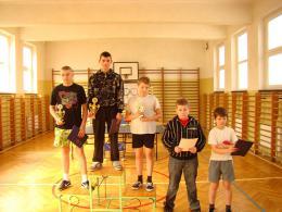 X Turniej Tenisa Stołowego Łosiów 2010