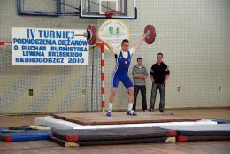 Marcin Fiałka - były uczeń PSP w Skorogoszczy obecnie zawodjnik Klubu Budowalni OPOLE