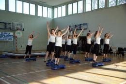 Zespół taneczny z PSP w Skorogoszczy pod kierownictwem Pani Marzeny Utzig