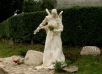 Sołectwo Różyna - Anioł Róż, autor St. Usiarczyk, Kurier Brz