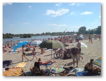 plaża w Lewinie