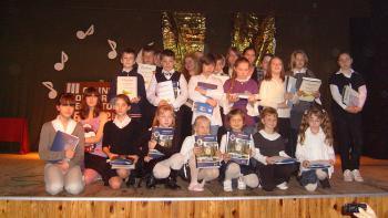 Laureaci - uczniowie podstawówek i gimnazjów