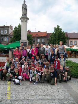 Zielona szkoła - PSP w Lewinie Brzeskim