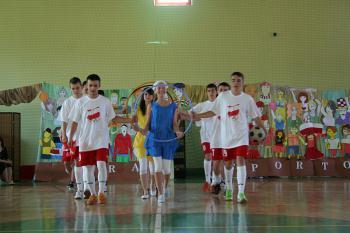 Uroczystość nadania imienia Polskich Olimpijczyków