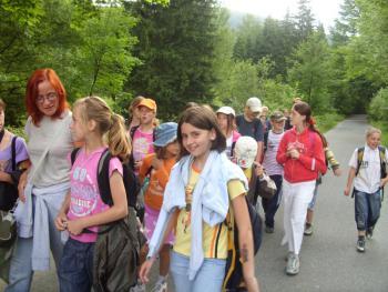 Pókolonia organizowana przez Świeltlicę Terapeutyczną w Lewinie Brzeskim w 2010r